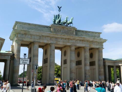Bild: Brandenburger Tor in Berlin