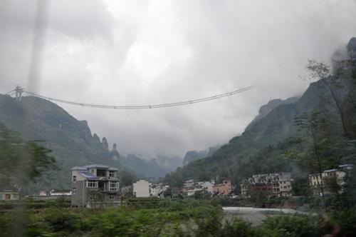Bild: Aizhai Brücke in der Nähe von Dehang im Oktober 2010