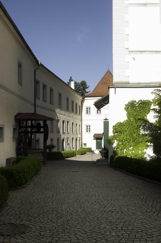 Bild: Innenhof Schloss Weinberg in Kefermarkt