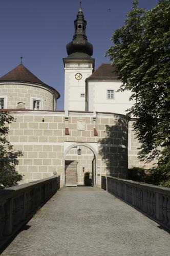 Bild: Schloss Weinberg in Kefermarkt - Eingang