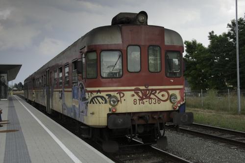 Bild: Dieseltriebwagen Slowenien