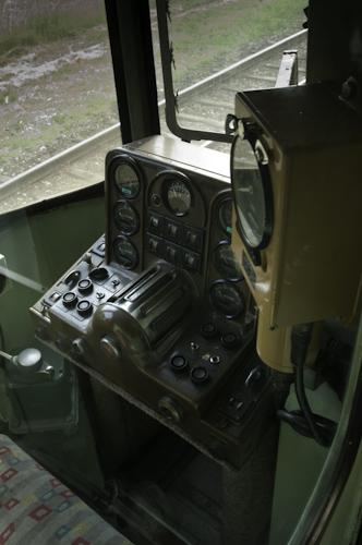 Bild: Slowenischer Dieseltriebwagen