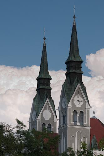 Bild: Kirche in Trnovo - Ljubljana