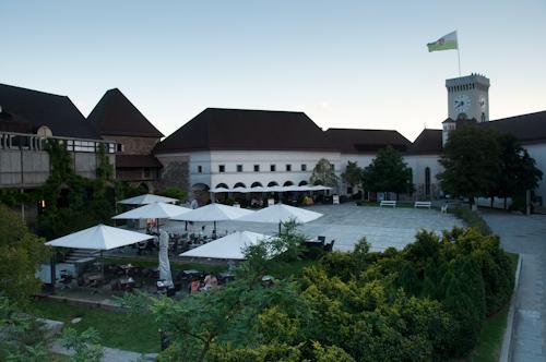 Bild: Laibacher Burg (Ljubljanski Grad)