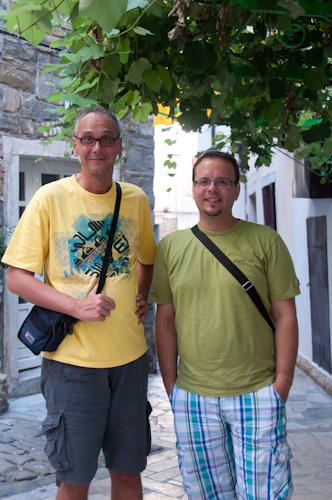 Bild: Bruno und Jernej