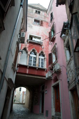 Bild: Gasse in Piran