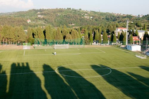 Bild: Sportplatz in Piran