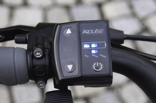 Bild: Steuerung des E-Bikes