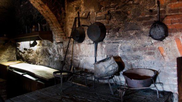 Küche in der Ritterburg Lockenhaus