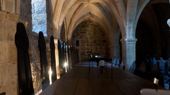 Rittersaal in der Burg Lockenhaus