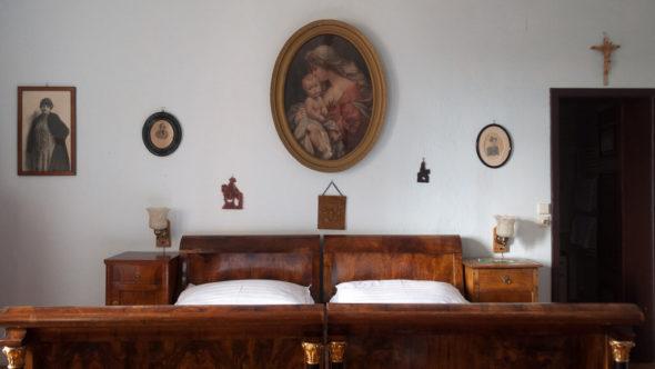 """Zimmer """"Paul Anton"""" in der Ritterburg Lockenhaus"""