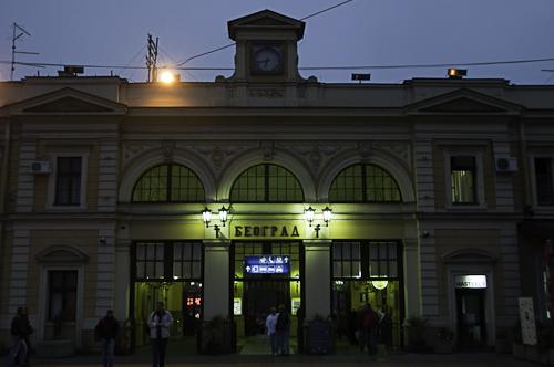 Bild: Belgrad Hauptbahnhof