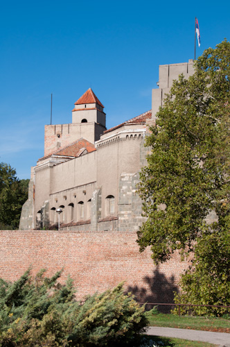 Bild: Festung Belgrad umgeben vom Park Kalemegdan