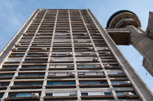 Bild: Genex Turm in Belgrad