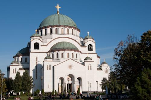 Bild: Kathedrale des Heiligen Sawa in Belgrad