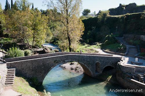 Bild: Alte Brücke in Podgorica