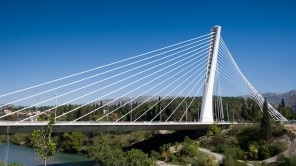 Bild: Millenniumsbrücke in Podgorica - Montenegro