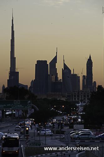 Bild: Skyline von Dubai - Blick von Deira