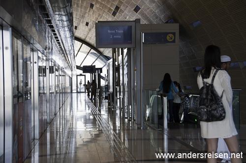 Bild: Metro Station in Dubai