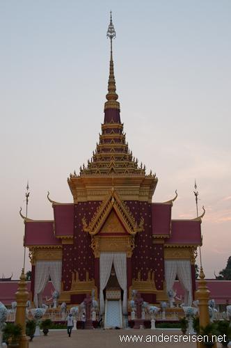 Bild: Krematorium für die Einäscherung von Norodom Sihanouk in Phnom Penh