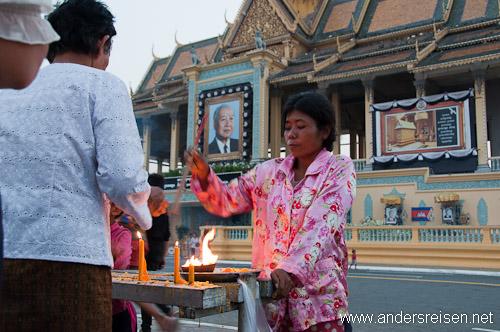 Bild: Kambodscha trauert um König Norodom Sihanouk