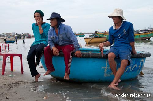 Bild: Fischer in Vietnam