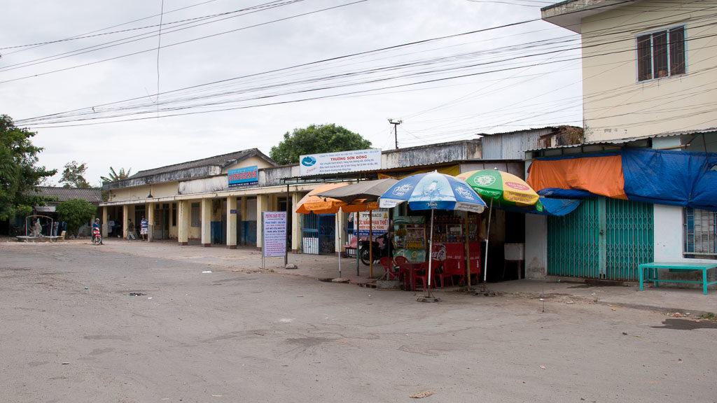 Alter Bahnhof in Phan Thiet