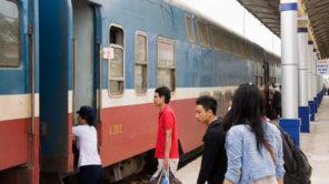 Mit dem Zug nach Mui Ne (Vietnam)