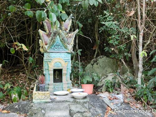 Bild: Geisterhäuschen im Dschungel auf Koh Tonsay