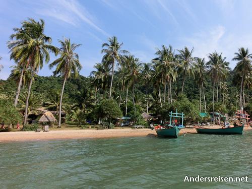 Bild: Strand auf Rabbit Island in Kambodscha