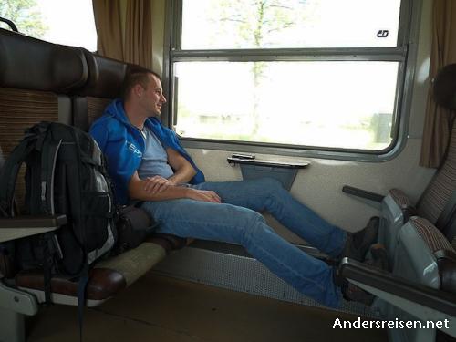 Bild: Unterwegs im Zug in Tschechien - Bild: Stefan Zaloznik