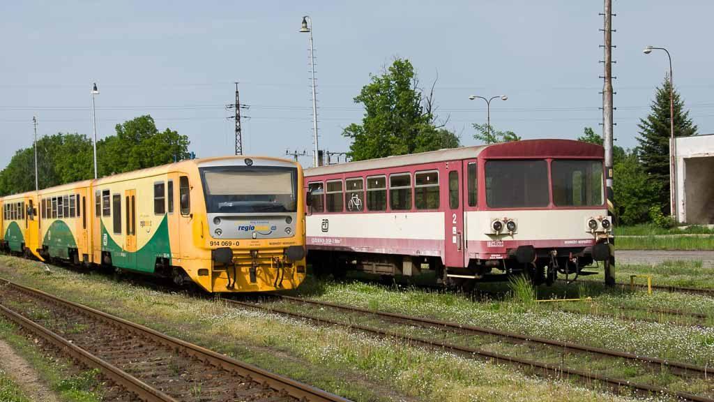 Regionalzüge in Tschechien
