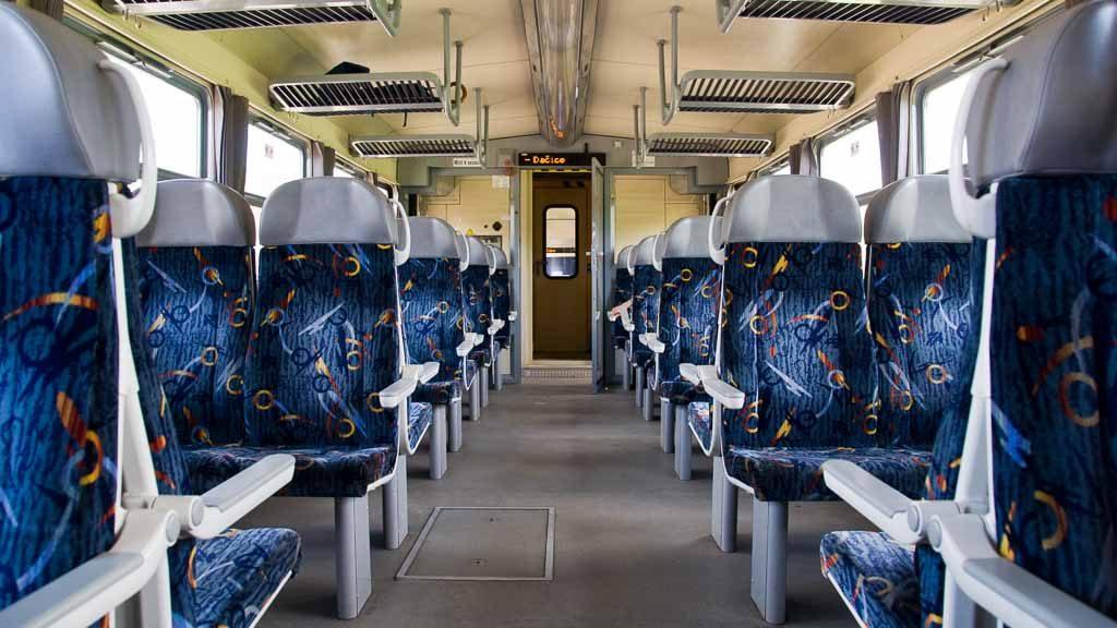 Schienenbus der Tschechischen Eisenbahn