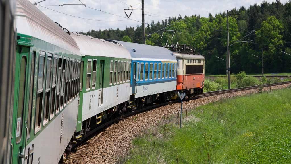 Rychlík-Zug (RR) Schnellzug der Tschechischen Eisenbahn