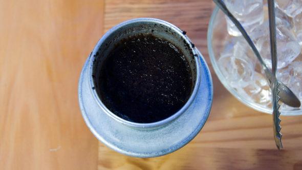 Vietnamesischer Kaffee Metallfilter