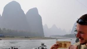 Xingping: Das Bild am 20 Yuan Geldschein