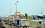 Schwimmende Märkte im Mekong-Delta