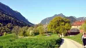 Pilgerwanderung am Jakobsweg von Großgmain nachUnken