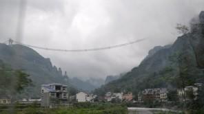 Schwindelerregend: Die Aizhai-Brücke inChina