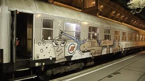 Dunkle Erinnerung an den Nachtzug Budapest – Belgrad