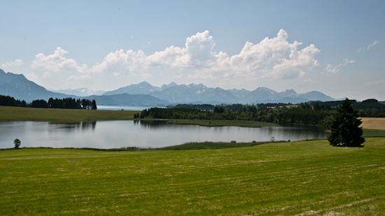 Bild: Illasbergsee und Forggensee