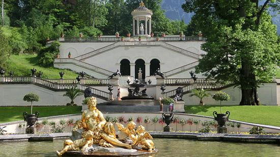 Bild: Schloss Linderhof