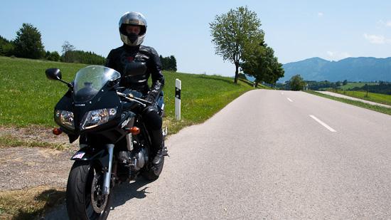Bild: Nicole von Ammergauer Alpentourismus am Motorrad