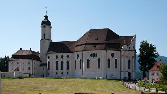 Bild: Wieskirche in Steingaden