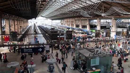 Bild: Gare Du Nord in Paris