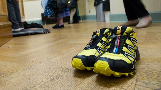 Bild: Schuhe im Weight House Newcastle