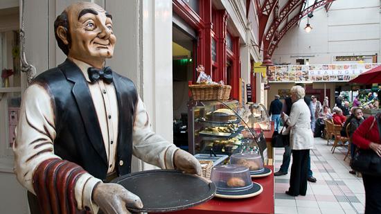 Bild: Grainger Market in Newcastle