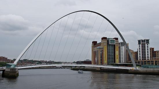Bild: Baltic Flour Mills und Millennium Brücke