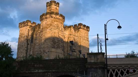 Bild: Burg Newcastle upon Tyne