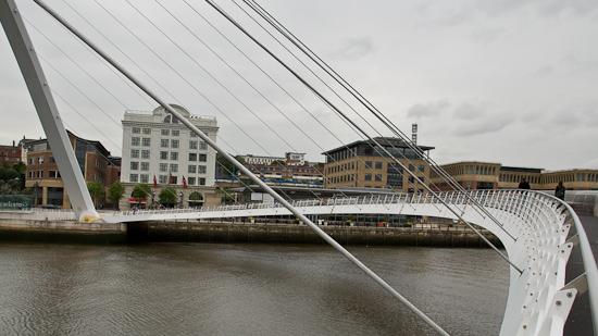 Bild: Gateshead Millennium Bridge